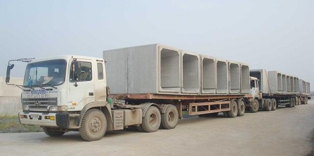 Cống hộp bê tông đúc sẵn H1500x1500