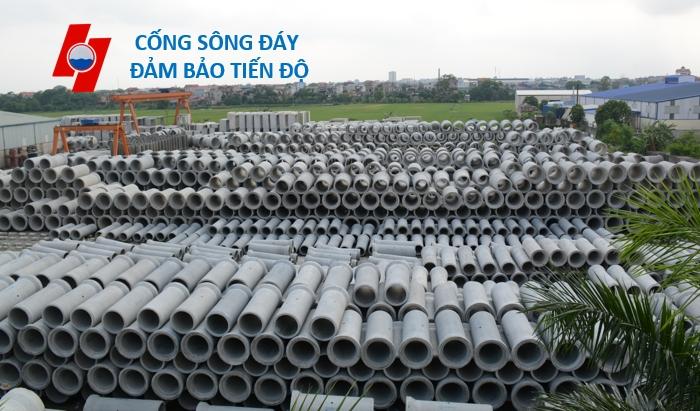 Ong cong tron be tong cot thep duc san D600