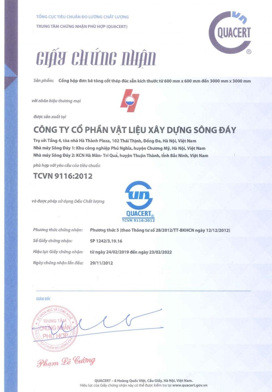 Tieu chuan cong hop don be tong cot thep duc san Song Day